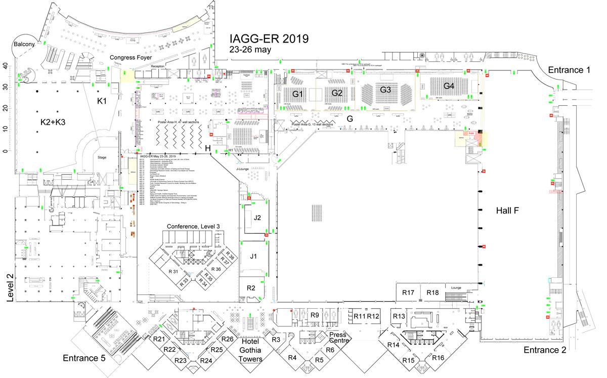iagger2019 venue plan