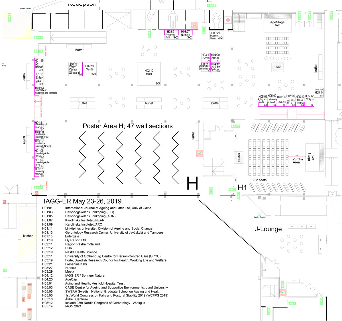 iagger2019 floor plan